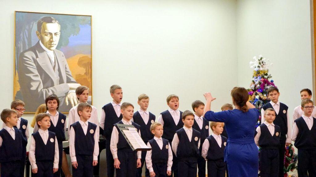 Образцовый коллектив хор мальчиков
